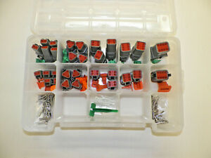 179 Pc Gray Deutsch Dt Connector Kit Solid Contacts Removal Tools