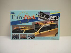Euro Pack Suction Cup Car Roof Rack Ski Canoe Strap Mount Kit New But Vintage