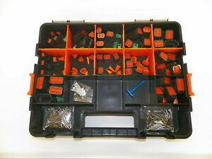 417 Pc Black Oem Deutsch Dt Connector Kit Solid Contacts Removal Tools
