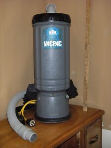 Used Windsor Vacpac Backpack Vacuum Commercial 10 Qt