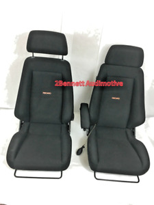 Recaro Specialist s Model Audi Seat Pair used Good Condition 2bennett Audimotive