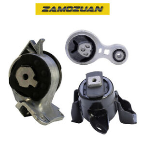 Engine Trans Mount 3pcs 2010 2012 For Ford Mercury Fusion Milan 2 5 For Auto