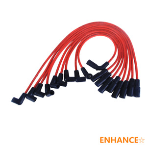 Spark Plug Wires Set Ignitioncable Fits For Leads Chevrolet Gmc 1995 2005 5 7l
