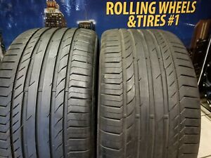 2 315 35 20 Continental Contisportcontact Ssr Rft With 80 Tread