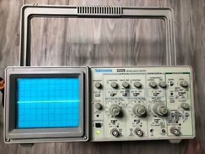 Tektronix 2225 50mhz Two 2 Channel Analog Oscilloscope Calibrated Electronic k1