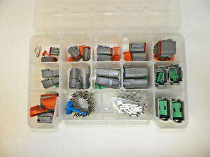 209 Pc Gray Deutsch Dt Connector Kit Stamped Contacts Removal Tools