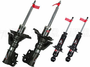 Tokico D spec Adjustable Shocks For 01 02 Honda Civic front rear Set