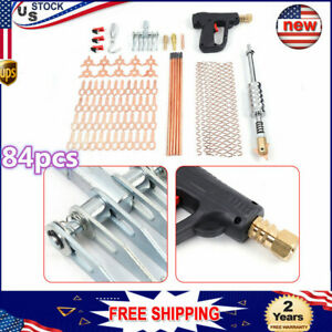 Car Paintless Dent Repair Removal Tools Assembly With Spot Welding Gun Brand New
