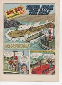 Original Ih 4 page Ad Big Red Td 24 Saved From The Sea