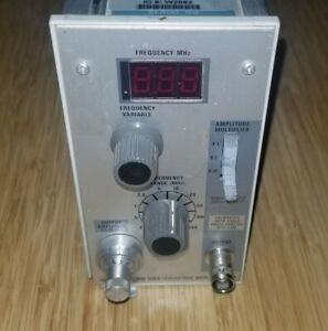 Tektronix Sg503 Leveled Sine Wave Generator Plug In For Tm500 Tm5000