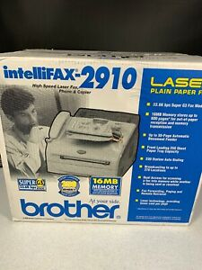 Brother Intellifax 2910 Laser Plain Paper Fax 2006 New