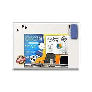 Officepro Ultra slim Lightweight Magnetic Dry Erase Board Accessories