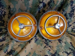 Amc 1971 1972 1973 1974 Amc Javelin Amx Hornet Parking Lights Lh Rh Oem