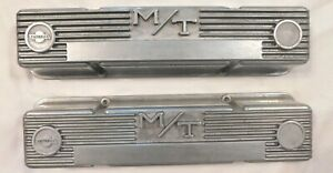 Mickey Thompson M T Small Block Chevy Valve Covers 3276000 Good Condition