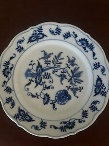 Chinese Ancient Antique Hand Make Blue And White Plate