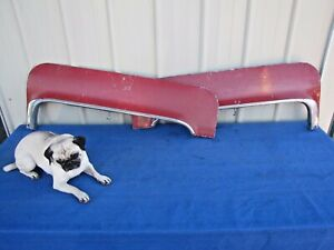 1963 63 1964 64 Cadillac Lh Rh Rear Fender Skirts Coupe Deville Gm Oem