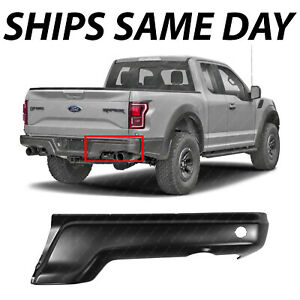 New Primered Steel Rear Right Bumper Face For 2017 2018 Ford F150 Raptor W Park