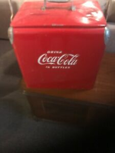 Coca Cola antique insulated cooler  Acton Mfg. vintage advertising