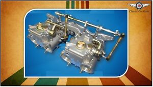 Ford 2l Pinto Escort Cortina Fajs Twin 48 Dco weber Sidedraft Carburettor Kit