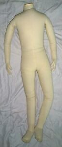 Child Mannequin Full Body Poseable Cloth Age 7 Vintage