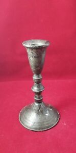 Vintage Duchin Creation Sterling Silver Candle Holder Base Weighted