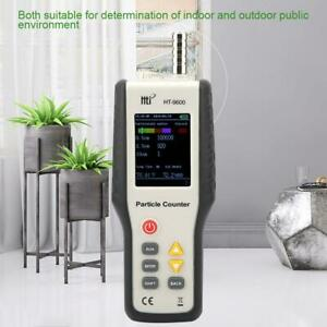 Ht 9600 Manual Pm2 5 Air Quality Detector Particle Dust Counter Humidity Monitor