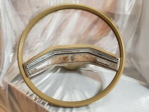 Oem Vintage 1972 1979 Lincoln Mark Continental Steering Wheel With Horn Pad