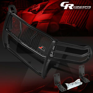 J2 Front Bumper Grille Protector Mesh Brush Guard For 10 19 Ram Truck 2500 3500