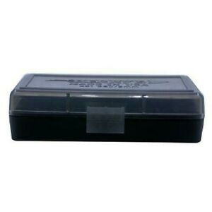 AMMO BOXES (1) SMOKE 50 Round 9MM  380 - Berry's Plastic Container