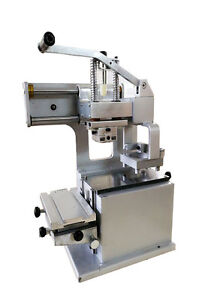 1 Color Pad Printing Machine With 2 76 Oil Cup Print Date Diy Logo Brand New