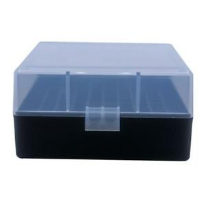AMMO BOXES (10) CLEAR 100 ROUND 223  5.56 - Berry's Plastic Container $55.00
