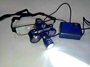 Dental Loupe 3 5x Led Rechargeable Free Shipping
