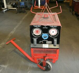 Hobart Tr300 Stick Welder With Cart Lead Rack 3 Phase