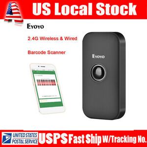 Eyoyo 3 In 1 Bluetooth Barcode Scanner 1d Screen Scanning For Phone Ipad Iphone