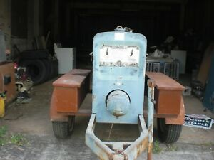 Lincoln Sa 200 Welder 1982 On Trailer