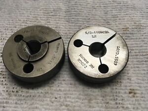 5 8 11 Unc2a Left Hand Thread Ring Gages Free Shipping