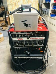Lincoln Square Wave Tig 355 Water Cooled Tig Welder