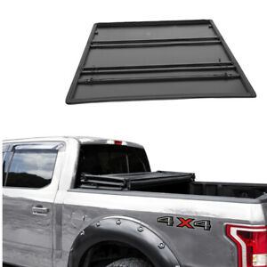 Jdmspeed Lock Tri Fold Soft Tonneau Cover For 2005 2019 Toyota Tacoma 5ft Bed