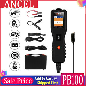 Car Battery Tester 12v 24v Power Probe Circuit Tester Electrical System Scanner