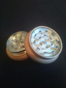 Grinder Ships From Canada 2 Part Real Wood Metal Herb Tobacco Spices 53mm
