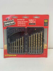 Vermont American 12385 Drill Bit Set 13 Pc 6d3 068