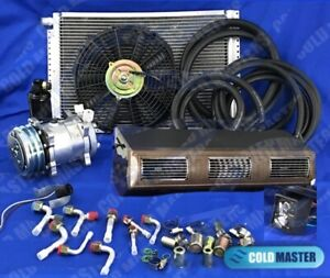 Underdash Air Conditioner Universal A C Kit450 1a 5v Brw With Elec Harness
