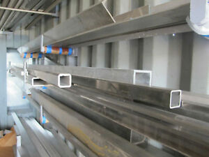 304 Stainless Steel Square Tube 2 X 2 X 250 X 108 Length