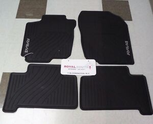Toyota Rav4 2007 2012 Factory All Weather Rubber Floor Mats Genuine Oem Oe