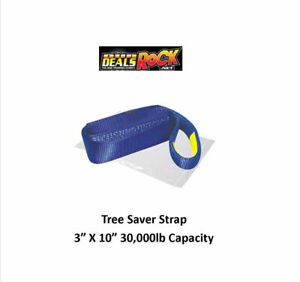 Tree Saver Strap 3 X 10 30 000lb Capacity
