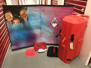 Nomadic Instand Trade Show Pop Up Display Table Top Booth Display With Manuals