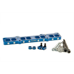 Boomba Racing Intake Manifold Spacer Blue For Ford Fusion 1 6