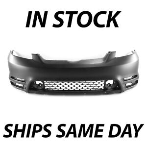 New Primered Front Bumper Cover Fascia For 2003 2004 Toyota Matrix W Spoiler