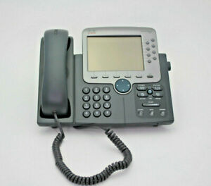 Cisco 7971 Ip Phone 7900 Series No Power Supply Used