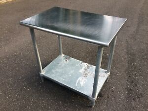 36 X 24 Eagle Stainless Steel Commercial Restaurant Kitchen Prep Work Table